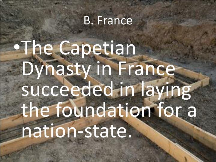 B. France