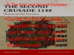 b the first and second crusades
