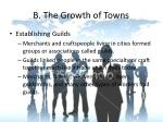b the growth of towns2