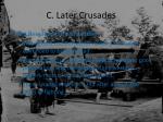 c later crusades2