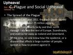 c plague and social upheaval1