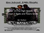 chapter 13 the high middle ages section 2 trade and towns grow