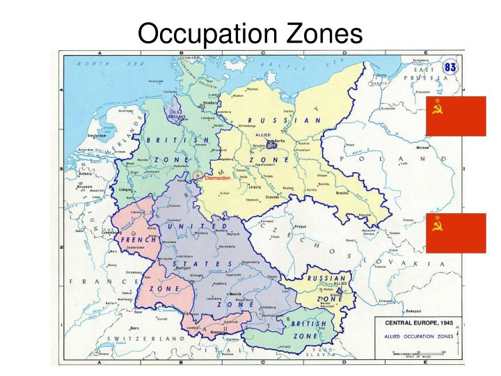 Occupation zones
