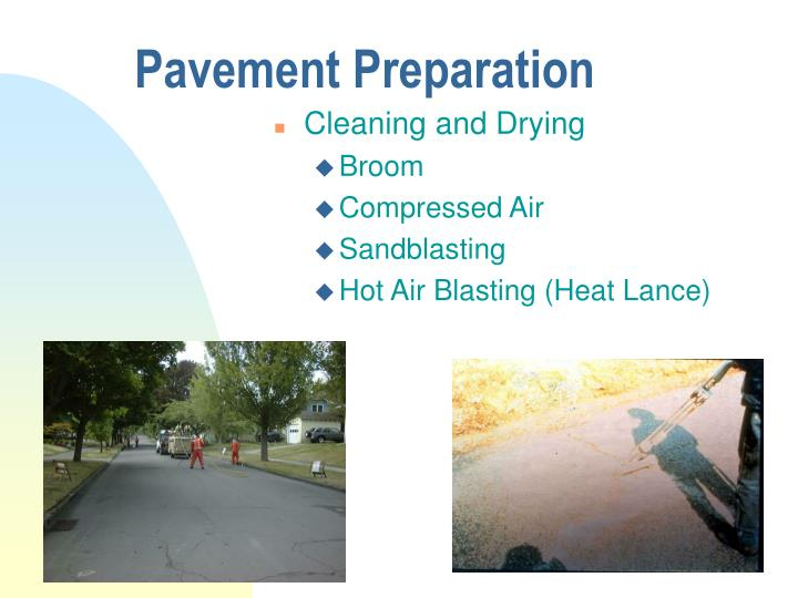 Pavement Preparation