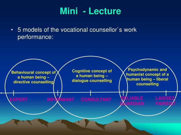 Mini  - Lecture