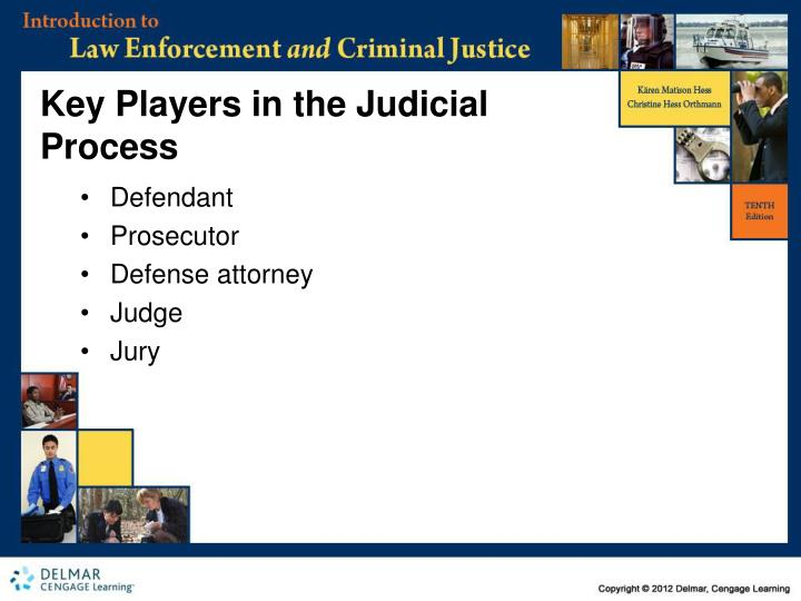 Key Players in the Judicial Process