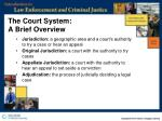 the court system a brief overview