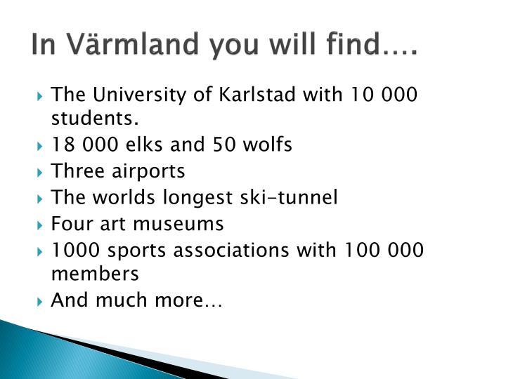 In Värmland