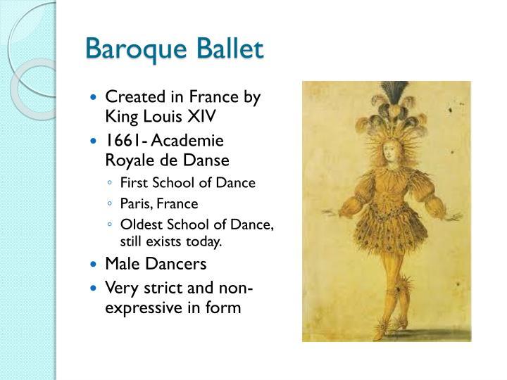 Baroque Ballet