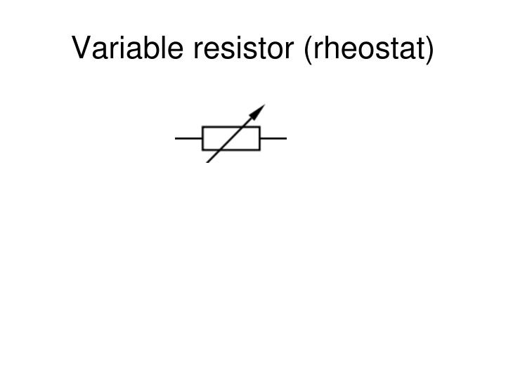 Preset Variable Resistor Circuit Symbol 28 Images | Jzgreentown.com
