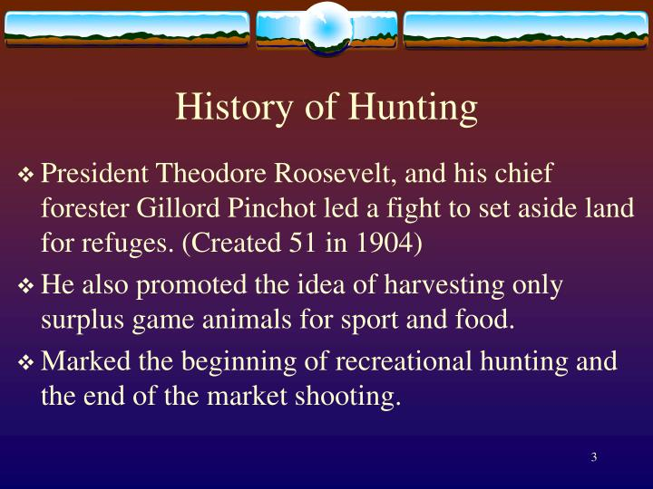 History of hunting1