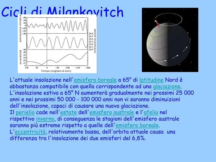 Cicli di Milankovitch