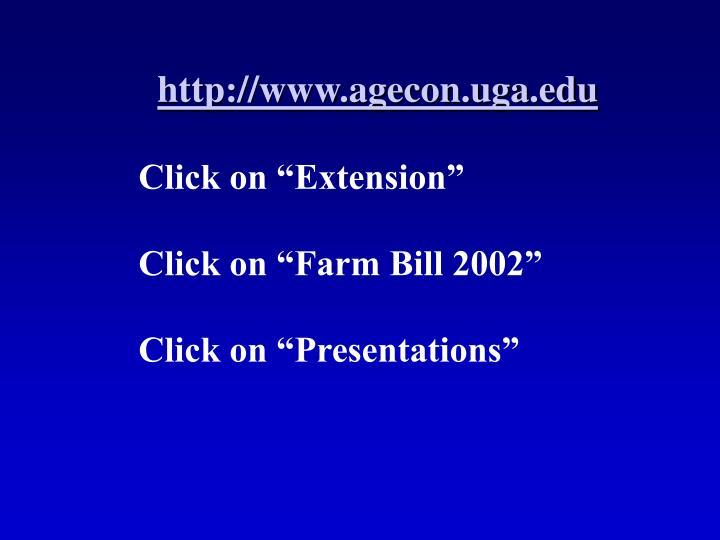 http://www.agecon.uga.edu
