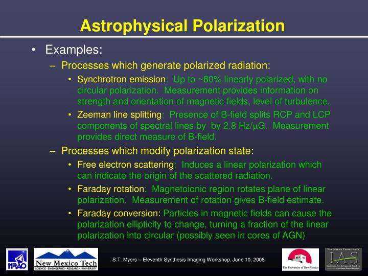Astrophysical Polarization