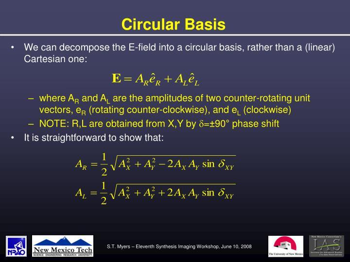 Circular Basis