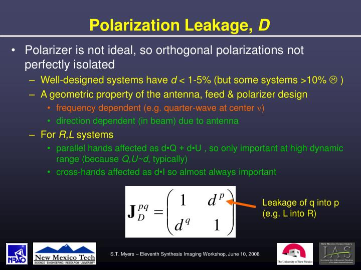 Polarization Leakage,