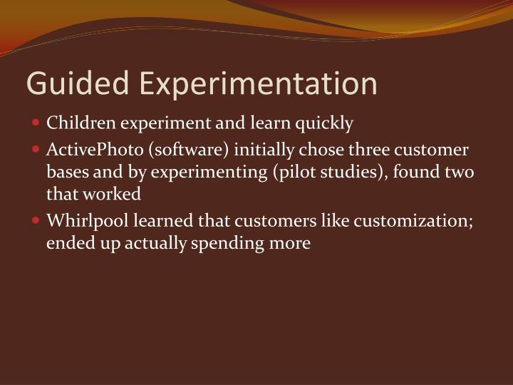 Guided Experimentation