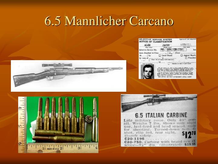 6.5 Mannlicher Carcano