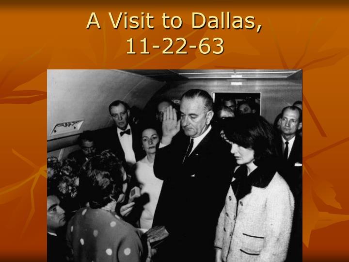 A Visit to Dallas,