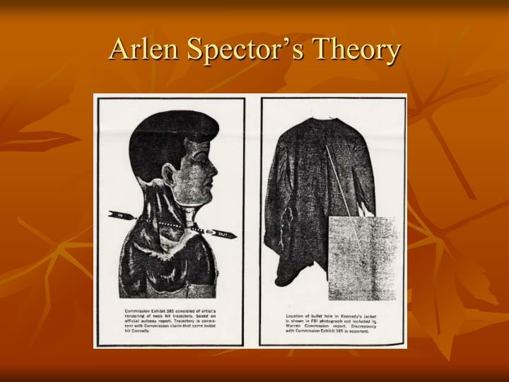 Arlen Spector's Theory