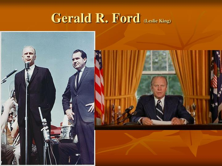 Gerald R. Ford