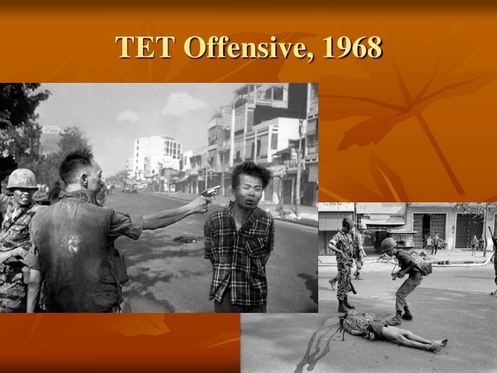TET Offensive, 1968