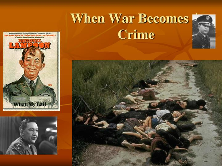 When War Becomes A Crime