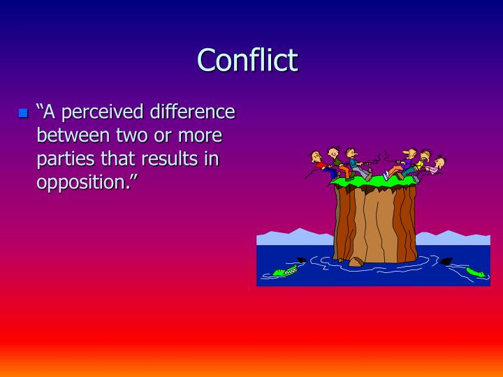 Conflict1