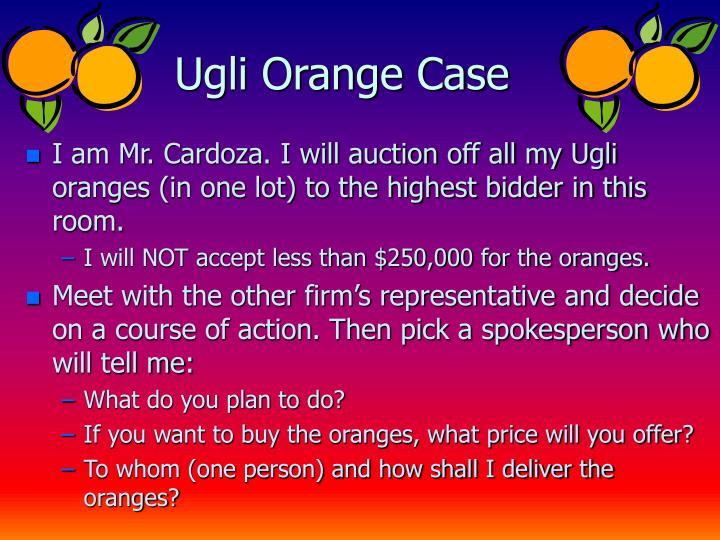 Ugli Orange Case