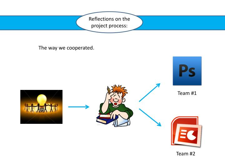Reflections on the project process: