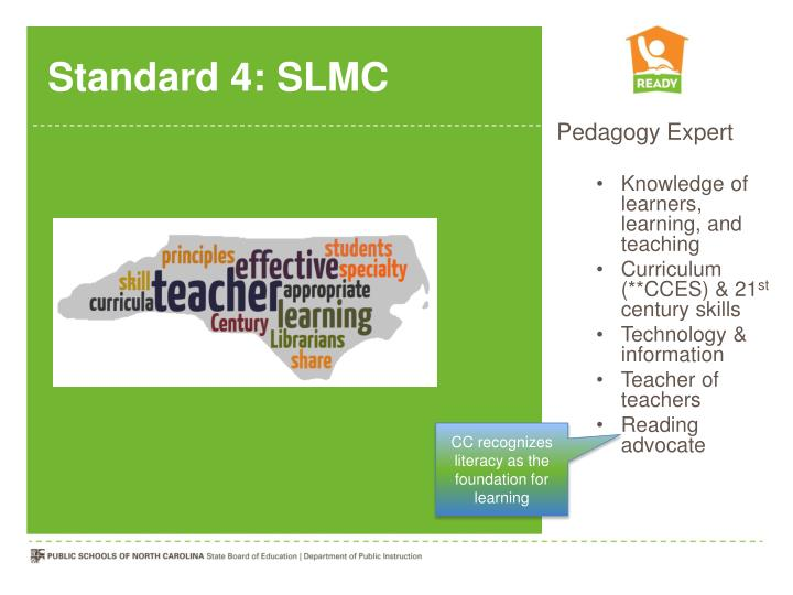 Standard 4: SLMC