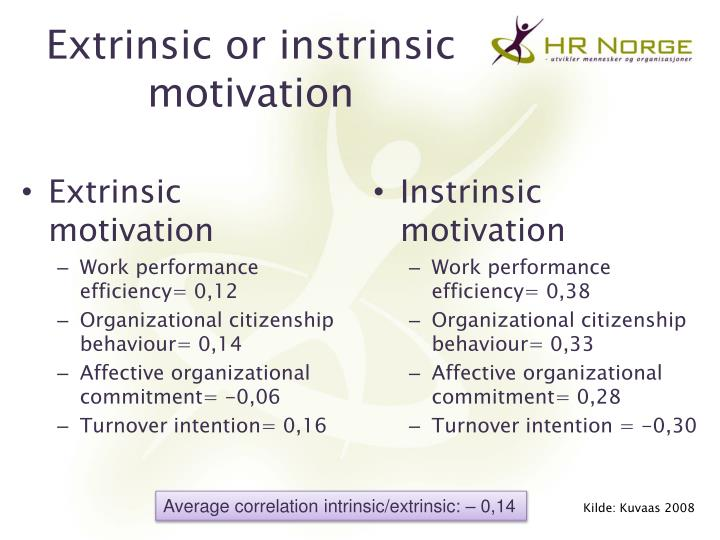 extrinsic motivation Of extrinsic motivation becomes an essential strategy for successful teaching 56 ryan and deci.