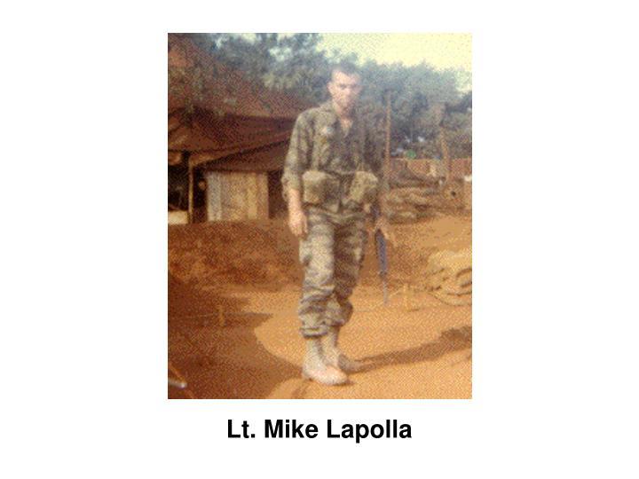 Lt. Mike Lapolla