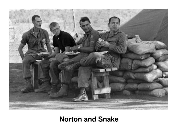 Norton and Snake