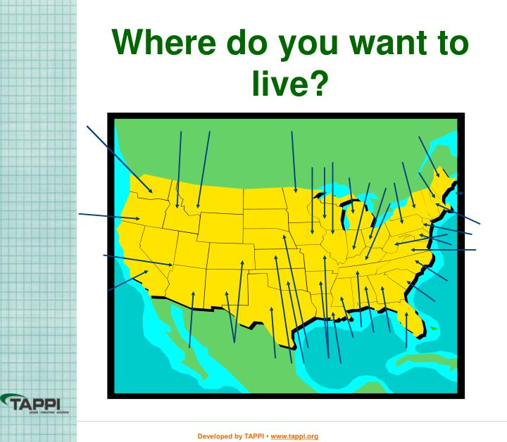 Where do you want to live?