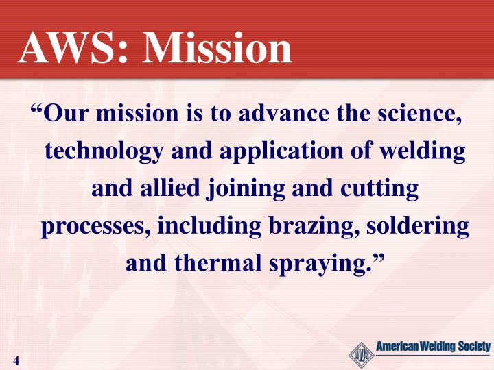 AWS: Mission