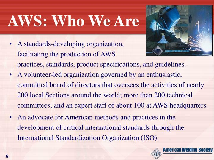 AWS: Who We Are