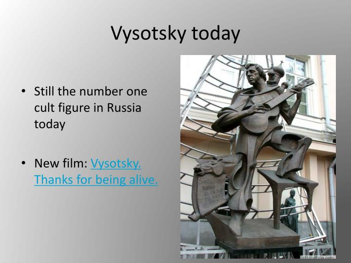 Vysotsky today