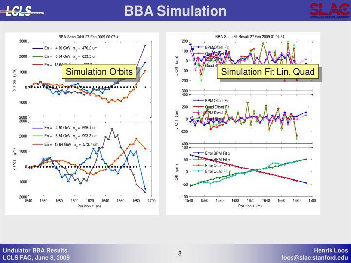 BBA Simulation