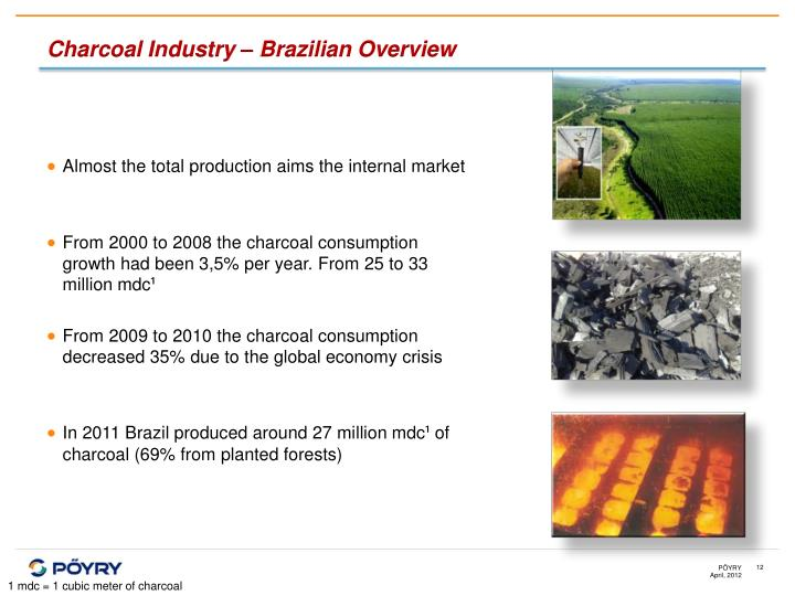 Charcoal Industry – Brazilian Overview