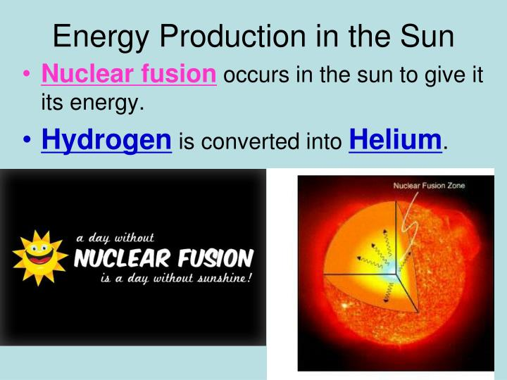 Energy Production in the Sun