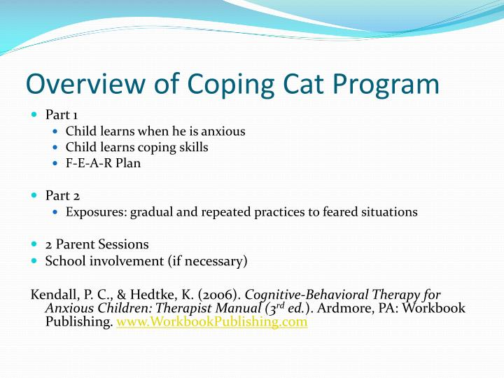 coping cat program 2018 funny cats