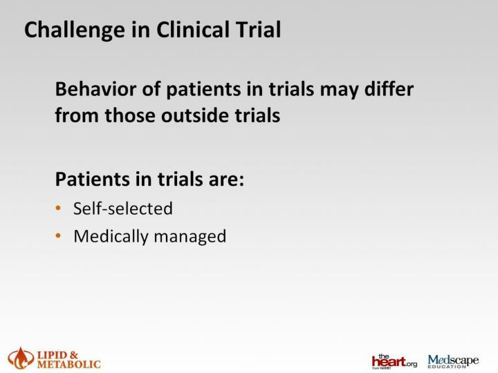 Challenge in Clinical Trial