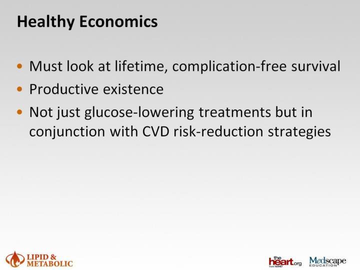 Healthy Economics