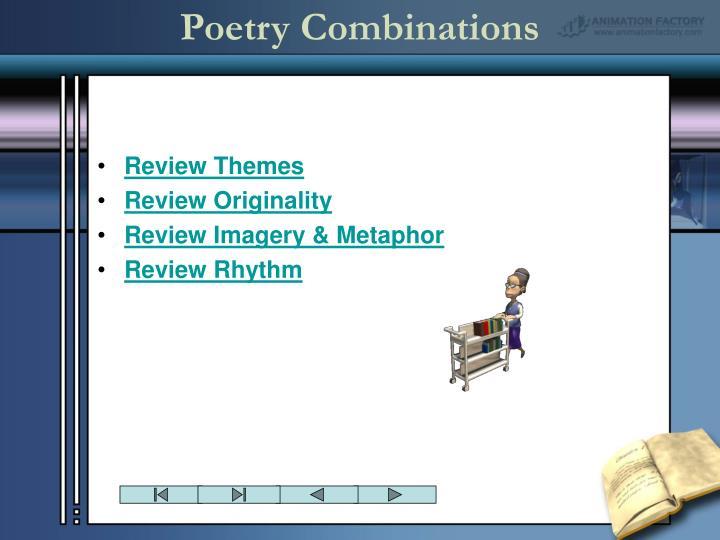 Poetry Combinations