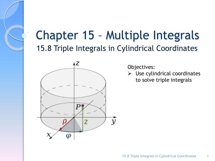 chapter 15 multiple integrals