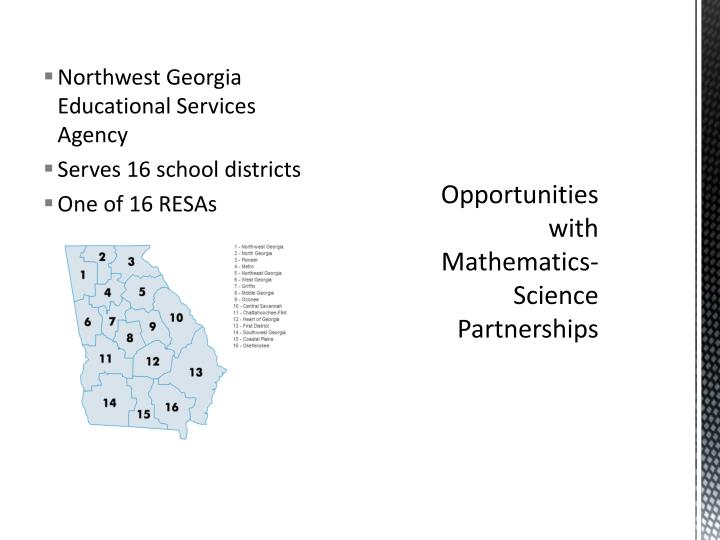 Northwest Georgia Educational Services Agency