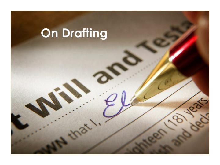 On Drafting