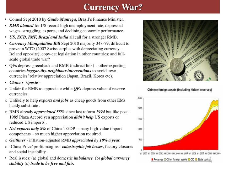 Currency War?