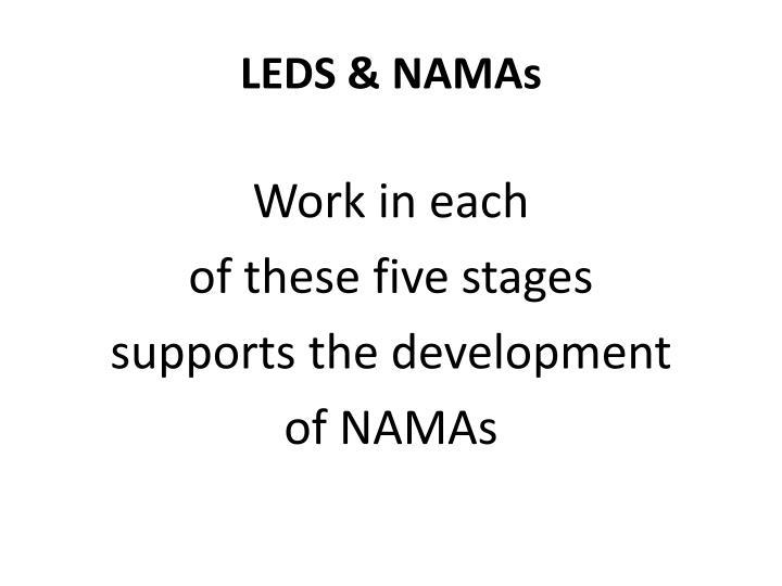 LEDS & NAMAs